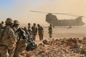 США залишать в Сирії групу своїх військовослужбовців «для захисту миру»