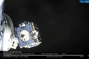 SpaceX запустила перший ізраїльський місяцехід та індонезійський супутник
