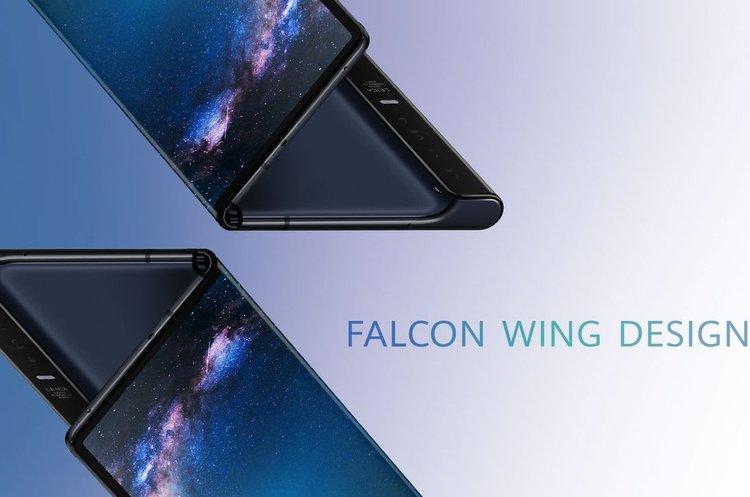 Huawei представила свій гнучкий смартфон за $2 600
