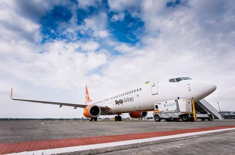 Авіакомпанія SkyUp переводить свій флот до аеропорту Бориспіль