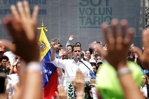 Гуайдо повернувся до Венесуели і готовий продовжувати кампанію проти Мадуро