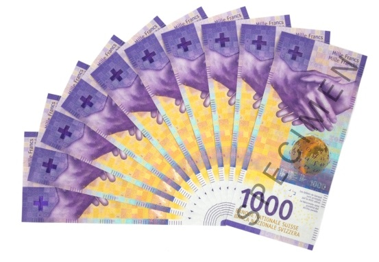 У Швейцарії представили найдорожчу в Європі банкноту – номіналом 1000 франків