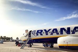 Авіакомпанія Ryanair оголосила розпродаж 500 000 авіаквитків від 5,9 євро