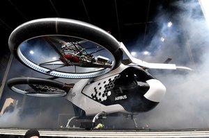 Airbus представила в Баварії своє літаюче таксі для великих міст