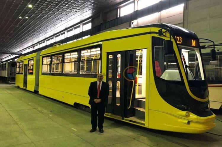 Єгипет запустив в експлуатацію новий український трамвай