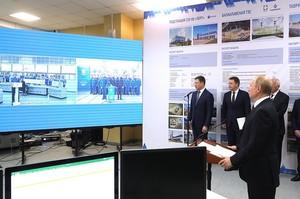Путін відкрив дві електростанції в Криму з нагоди 5-річчя анексії півострову Росією