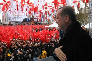 Ердоган показав відео зі стріляниною у новозеландській мечеті на своєму мітингу