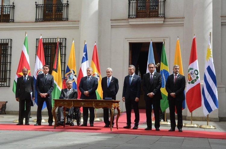 Вісім держав Південної Америки створили новий регіональний блок