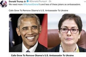 Заява Луценка щодо посла США в Україні набула сенсу: Трамп уже рік хоче звільнити Йованович