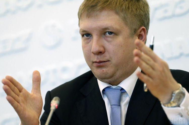 «Нафтогаз» підписав контракт з Коболєвим на умовах Кабміну