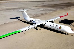 У Китаї здійснили випробування моделі пасажирського водневого літака