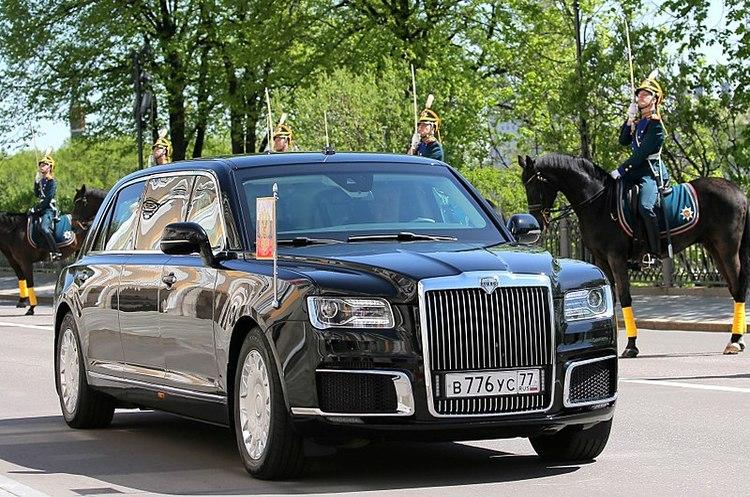 Російський автомобільний бренд Aurus не хочуть пускати до Європи