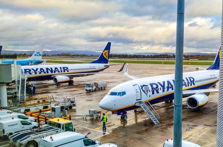 Ryanair відкрив продаж квитків з Києва до Валенсії