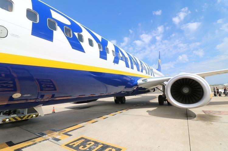 Ryanair почне польоти з Одеси та Харкова влітку 2019 року