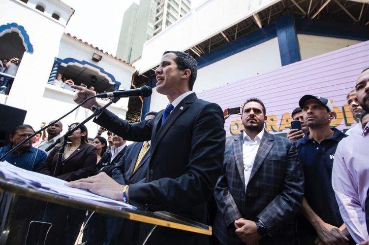 Гуайдо розповів, коли почнеться операція з повалення режиму Мадуро
