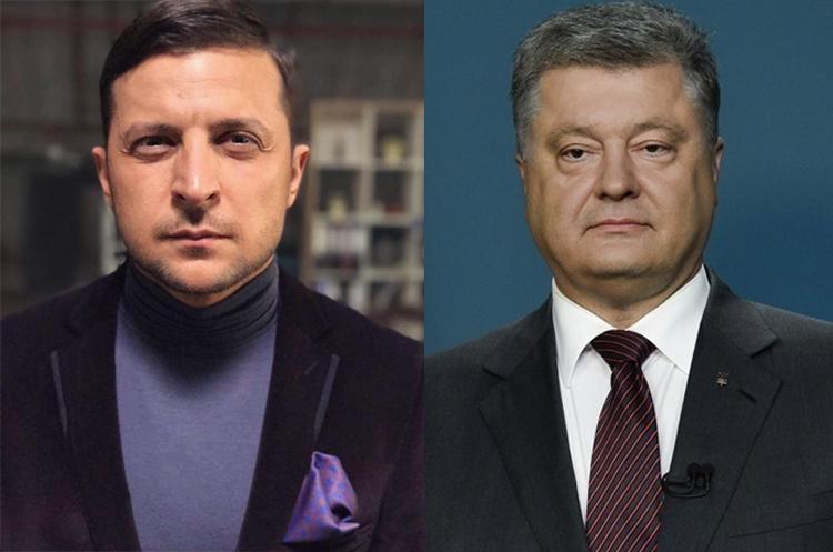Национальный экзит-пол: во второй тур президентских выборов выходят Зеленский и Порошенко