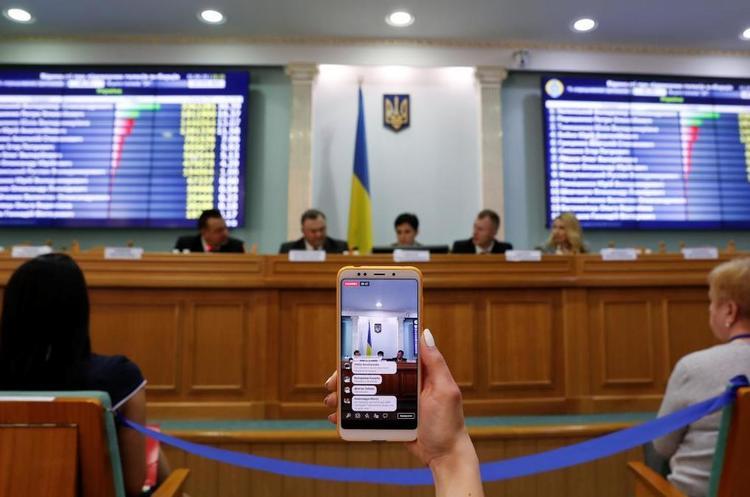 Завтра ЦВК офіційно оголосить результати 1 туру виборів президента України