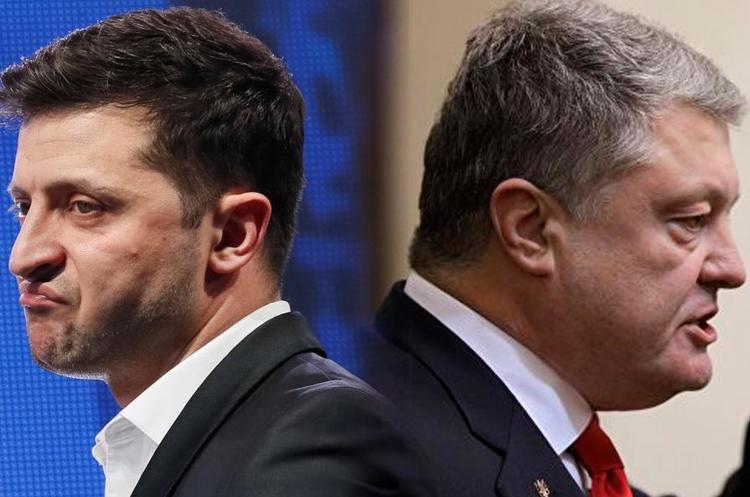 «Будьте мужиком, приходьте на дебати»: Порошенко закликав Зеленського не ставити умов