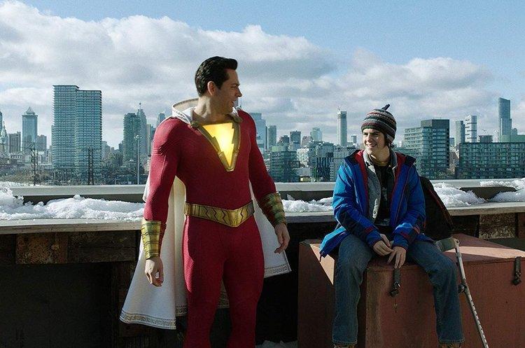 «Shazam!» очолив американський кінопрокат і приніс студії DC за вихідні $53 млн касових зборів
