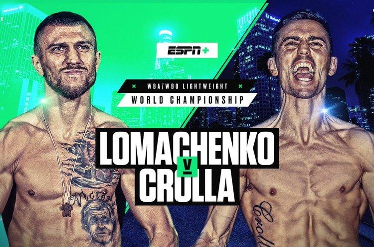 Українець Ломаченко переміг свого суперника Кроллу нокаутом (ВІДЕО)