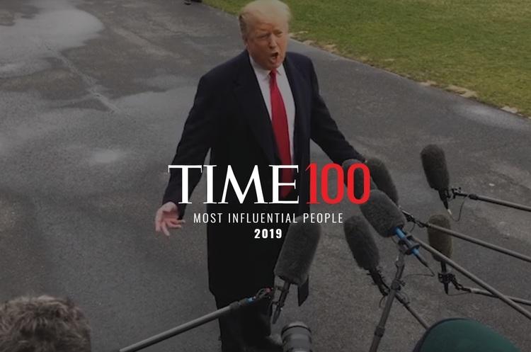 Time опублікував перелік 100 найбільш впливових людей 2019 року