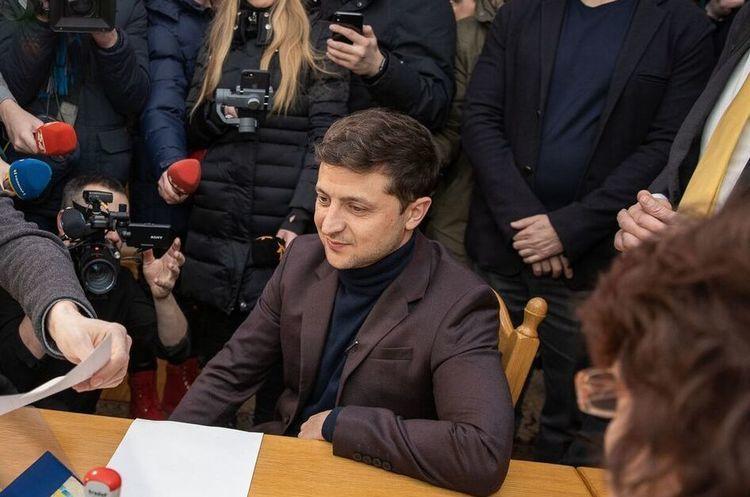 Зеленський представив свою команду
