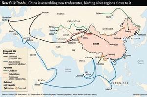 Китай інвестував $90 млрд у країни, що приєдналися до ініціативи «Один пояс – один шлях»
