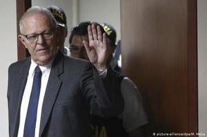 Колишнього президента Перу Кучинського відправили в СІЗО на 3 роки