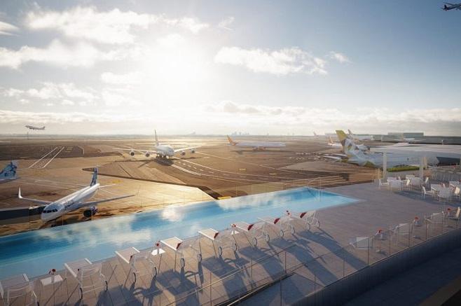 На даху аеропорту JFK у Нью-Йорку відкриють басейн