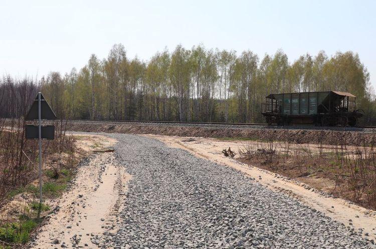 «Укрбуд» построил железную дорогу в Чернобыльской зоне отчуждения