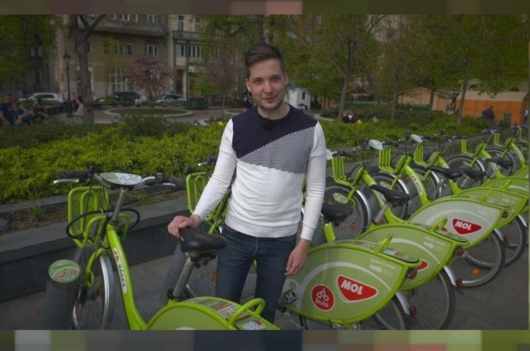 Будапешт переходить на велосипеди: в місті відкрилося 128 велостанцій проекту Bubi