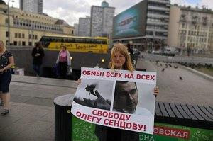 У Москві пройшли пікети на підтримку Олега Сенцова