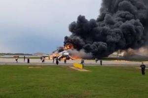 Оновлено: авікатастрофа Superjet у «Шереметьєво» забрала життя 41 особи (ВІДЕО)