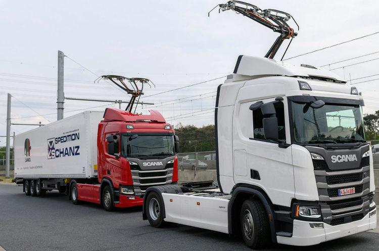 У ФРН поблизу Франкфурта відкрився перший електричний автобан