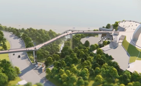 Швейцарці звинуватили владу Києва у використанні їхнього проекту при побудові нового моста