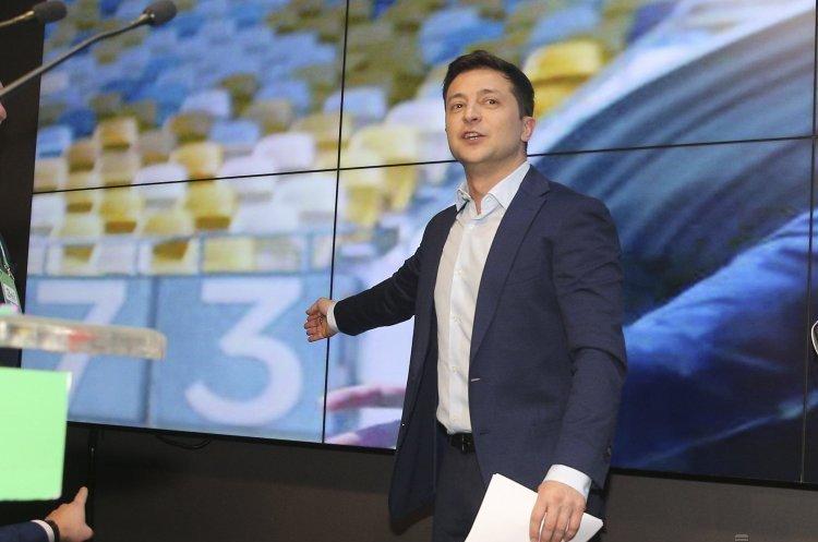 Передвиборча кампанія Зеленського коштувала 156 млн грн