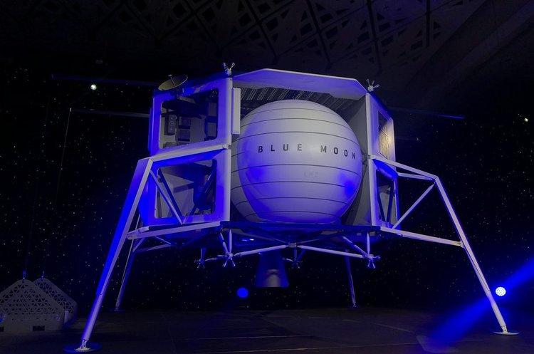 Безос показав прототип апарату для висадки на Місяць (ВІДЕО)