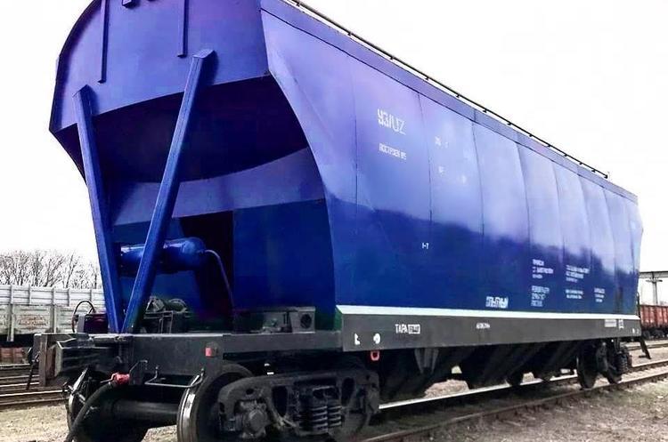 «Укрзалізниця» побудувала вагон-зерновоз на власних потужностях