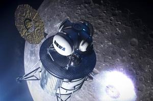NASA разом з Blue Origin і SpaceX розробить космічний корабель для польоту на Місяць
