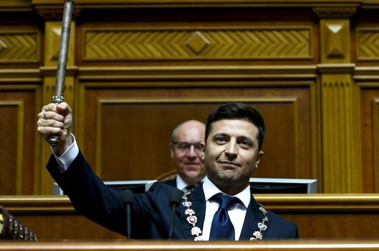 У Верховній Раді відбулась інавгурація новообраного президента Зеленського (ВІДЕО)