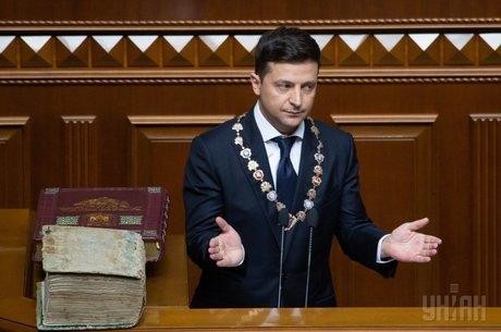 «Усім спасибі, всі вільні»: з чого почалася каденція президента Володимира Зеленського
