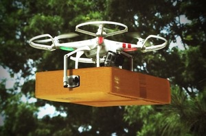 Wing запускає у Фінляндії доставку їжі дронами