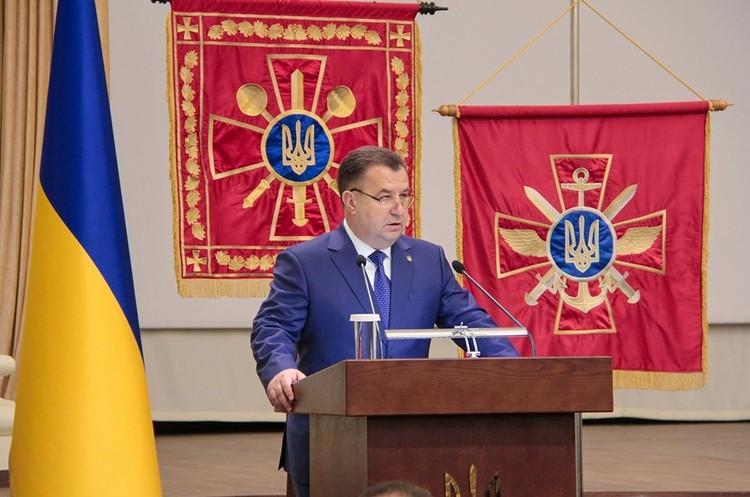 Полторак розповів про свою відставку, Зеленського, переговори з РФ  та майбутнє ЗСУ