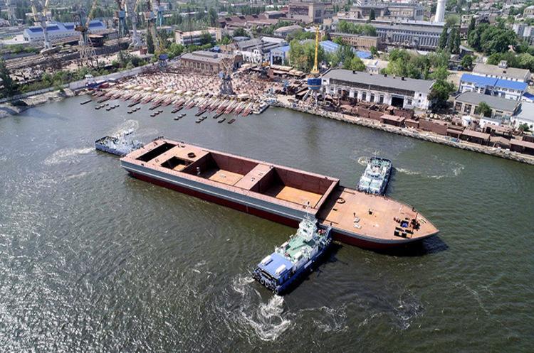 «Нібулон» спустив на воду найбільше в історії незалежної України 140-метрове судно (ВІДЕО)
