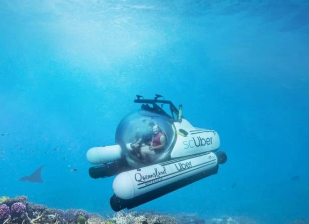 Uber запускає перше у світі підводне таксі (ВІДЕО)