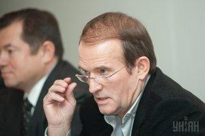 Медведчук не представлятиме Україну на переговорах по Донбасу