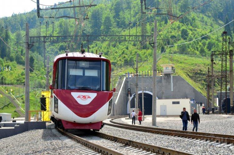 Через Бескидський тунель з 2018 року пройшло 8 590 поїздів