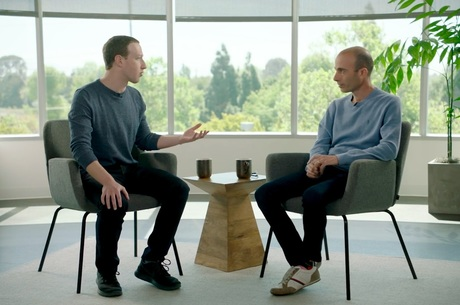Интернет, ИИ и будущее: о чем Марк Цукерберг говорил с Ювалем Харари