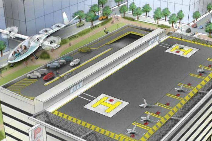 Uber запустить у Мельбурні службу літаючих таксі