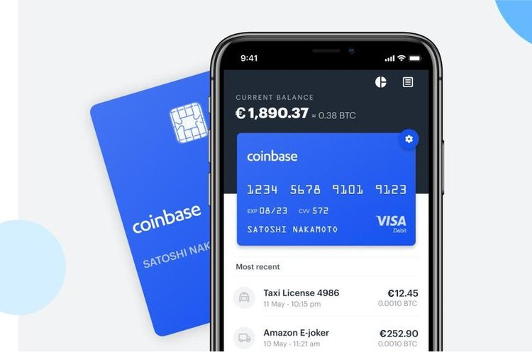 Coinbase запускає свою дебетову карту Visa ще в шести країнах Європи